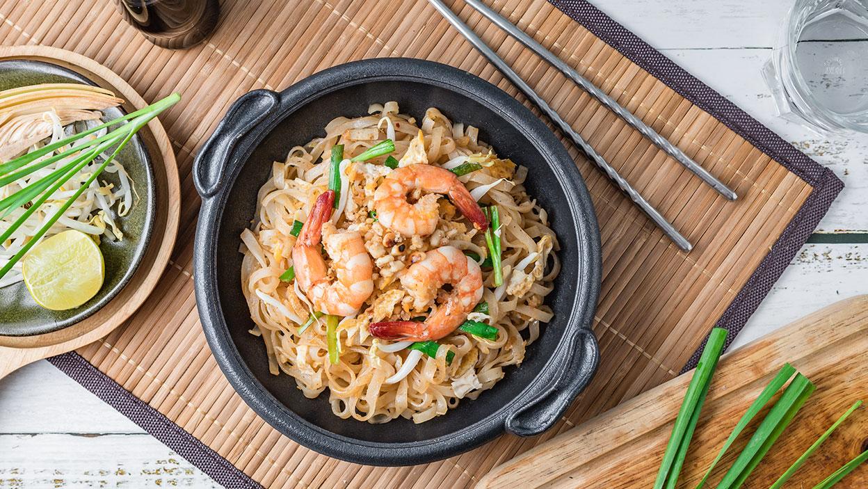 Pad thai - celá Ázia na tanieri. Jednoduchý recept na thajskú pochúťku